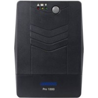 Aurora Series 600 VA Line Interactive UPS with inbuilt batteries, Indian sockets